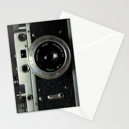 Vintage analog camera Stationery Cards