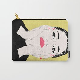 Pop Maria Callas - Yellow Carry-All Pouch