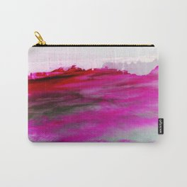 Purple Clouds Red Mountain Carry-All Pouch