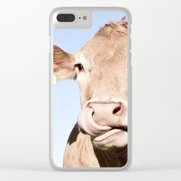 Holy cow Clear iPhone Case