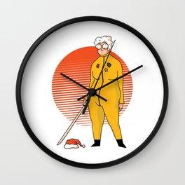 Kill Santa Granny Edition Wall Clock