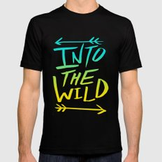 Into the Wild IV Mens Fitted Tee Black SMALL
