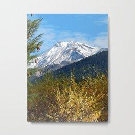 Shasta Poster Metal Print