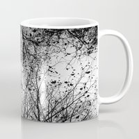 leaves Mugs featuring Branches & Leaves by David Bastidas