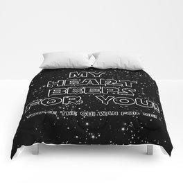 Star Crossed lovers 2 Comforters