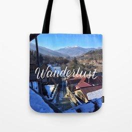 Wanderlust // #TravelSeries Tote Bag