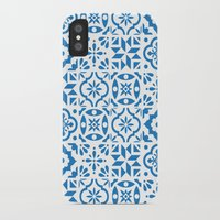 spanish iPhone & iPod Cases featuring Spanish Tiles by Morris & Essex
