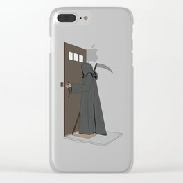 Dead Ringer Clear iPhone Case