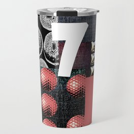 PINK #THE 7 Travel Mug