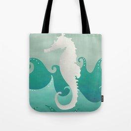 Sea Stallion #Seahorse #Ocean Tote Bag