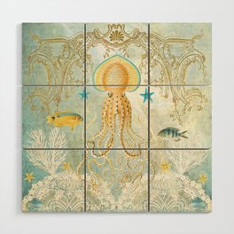 Octopus Wood Wall Art