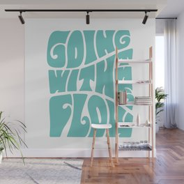 Going with the flow Wall Mural