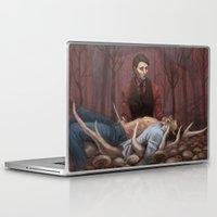 hannibal Laptop & iPad Skins featuring Hannibal by RAVEFIRELL