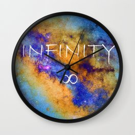 Infinity stars in Sagittarius constelation ∞ Wall Clock