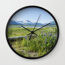 Along the Seward Highway, No. 2 Wall Clock