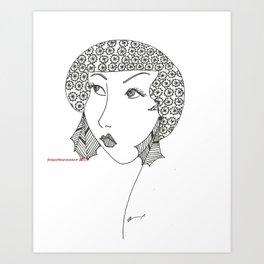 classy, sassy Art Print