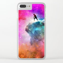 Andy Andromeda Clear iPhone Case