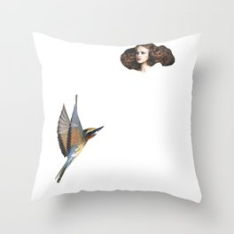 The Turned Head  Throw Pillow