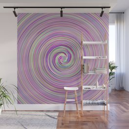 Verba waves Wall Mural