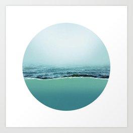 Under Water 6 Art Print