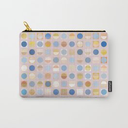 Circles and Squares 2 Carry-All Pouch