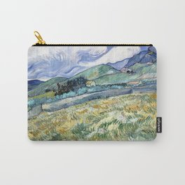Landscape from Saint-Remy by Vincent van Gogh Carry-All Pouch