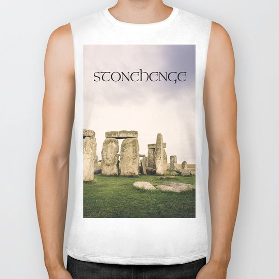 Stonehenge Biker Tank