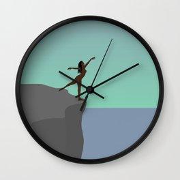 Blood Moon 2 Wall Clock