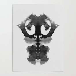 Form Ink Blot No.1 Poster