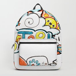 Kawaii Doodle - Just Start Backpack