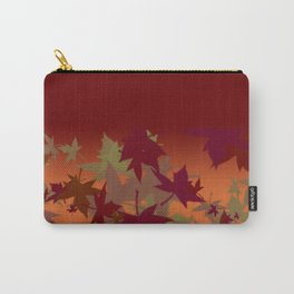 Colors of Fall Design Carry-All Pouch