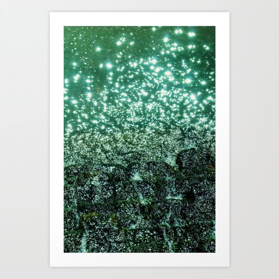 NATURAL SPARKLE Art Print