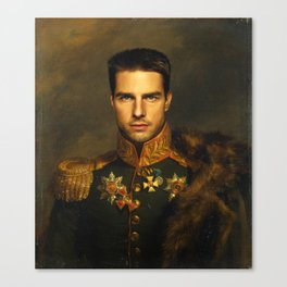 Tom Cruise - replaceface Canvas Print