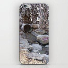 Confederation Park pipe iPhone Skin