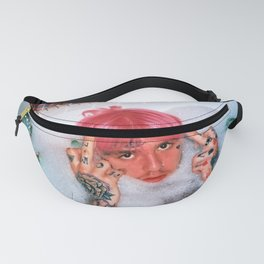 Lil Peep pink hair bath fuck Fanny Pack