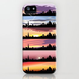 Equinox Sunsets (London Sunsets 01-06) iPhone Case