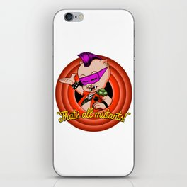 That's all mutants! iPhone Skin