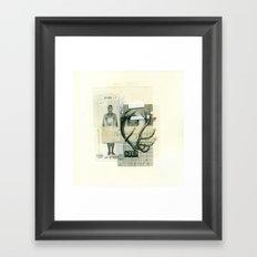 16 Point Buck Framed Art Print