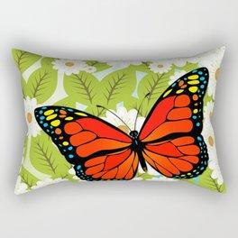 Red butterfly Rectangular Pillow