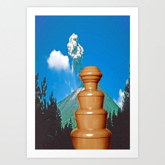 sjokolade&fjellet Art Print