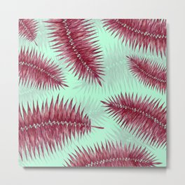 Palm Fronds 2 Metal Print