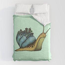 Snail City Comforters