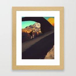 The Long Con Framed Art Print