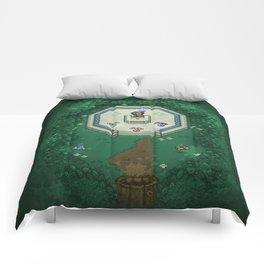 Zelda Mastesword Pixels Comforters