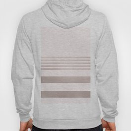 Rose Gold and Pink Stripes Mix Pattern 1 Hoody