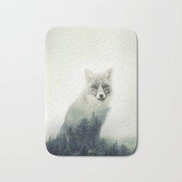 Fox, Forest Animal, Woodlands, Wilderness Bath Mat
