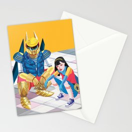 Asian Squatting Stationery Cards