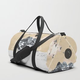 collage art / Wild Nature Duffle Bag