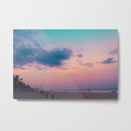 Sunset Vibes Metal Print