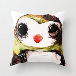 Skitch. Throw Pillow